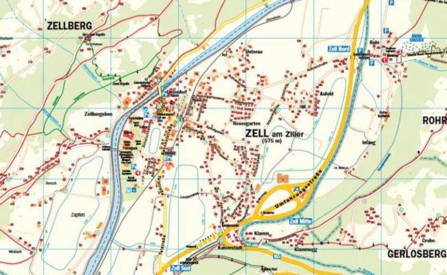 Ortsplan-Zell-am-Ziller